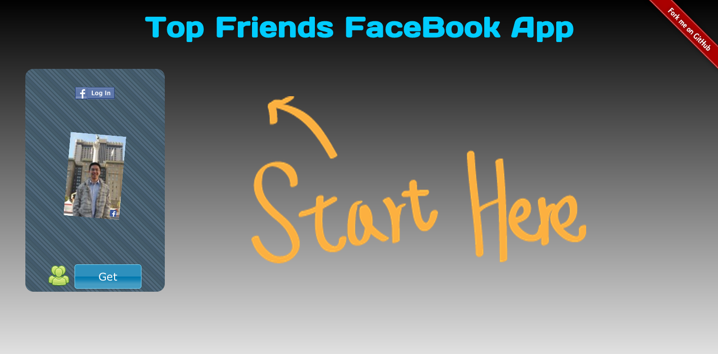 Top Friends FaceBook App